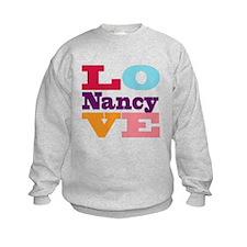 I Love Nancy Sweatshirt