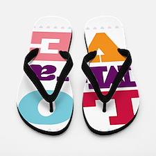 I Love Mya Flip Flops