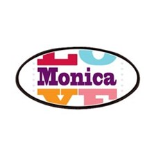 I Love Monica Patches
