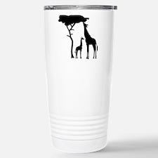 Giraffe family Travel Mug