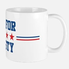Vote for CHRISTY Mug