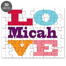 I Love Micah Puzzle