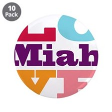 """I Love Miah 3.5"""" Button (10 pack)"""