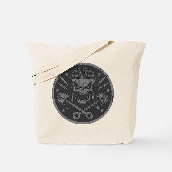 Piston Pistoff 2 -gold/silver Tote Bag