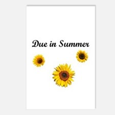 Due in Summer Postcards (Package of 8)