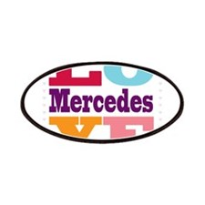 I Love Mercedes Patches