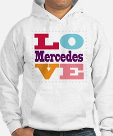 I Love Mercedes Jumper Hoody