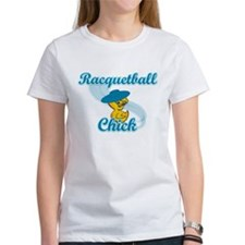 Racquetball Chick #3 Tee