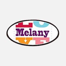 I Love Melany Patches