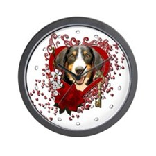 Valentines - Key to My Heart - Entlebucher Wall Cl