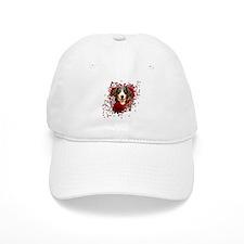 Valentines - Key to My Heart - Entlebucher Baseball Cap