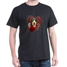 Valentines - Key to My Heart - Entlebucher T-Shirt