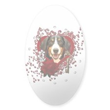 Valentines - Key to My Heart - Entlebucher Decal