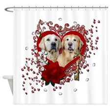 Valentines - Key to My Heart - Goldens Shower Curt