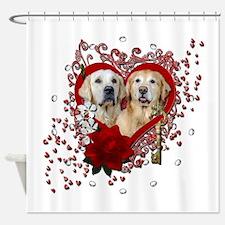 Valentines - Key to My Heart - Goldens Shower Curt