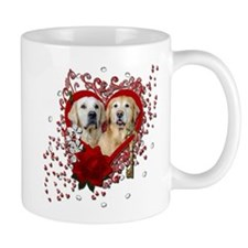 Valentines - Key to My Heart - Goldens Mug