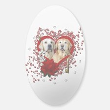 Valentines - Key to My Heart - Goldens Decal
