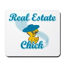 Real Estate Chick #3 Mousepad