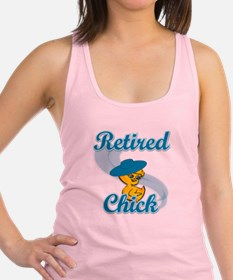Retired Chick #3 Racerback Tank Top