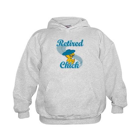 Retired Chick #3 Kids Hoodie