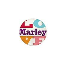 I Love Marley Mini Button