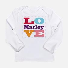 I Love Marley Long Sleeve Infant T-Shirt