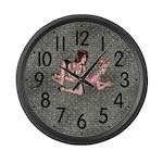 Diamond Tattoo Large Wall Clock
