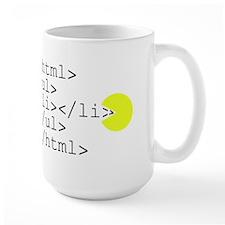 HTML Pacman Mug