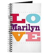 I Love Marilyn Journal