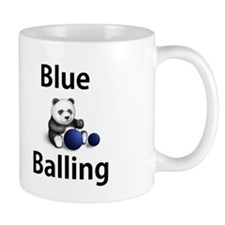 Blue Balling Mug