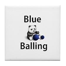 Blue Balling Tile Coaster