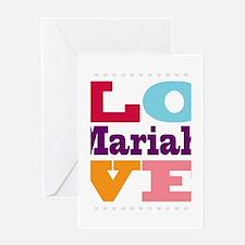 I Love Mariah Greeting Card