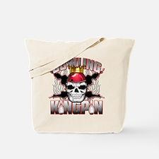 Bowling Kingpin Tote Bag