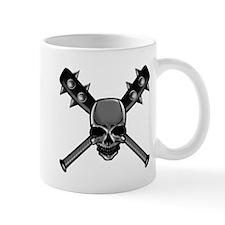 SkullCrossbats copy Mug