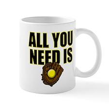 AllYouNeedisGlove copy Mug