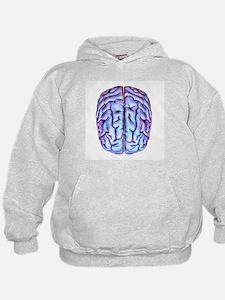 Human brain, artwork - Hoodie