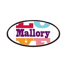 I Love Mallory Patches