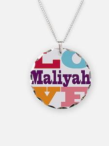 I Love Maliyah Necklace