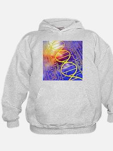DNA circuit board - Hoodie