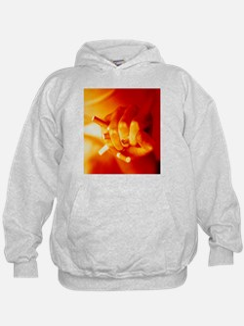 Hand crushing cigarettes - Hoodie