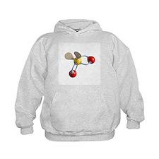 Sulphur dioxide molecule - Hoodie