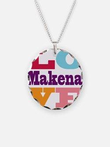 I Love Makena Necklace