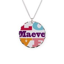 I Love Maeve Necklace