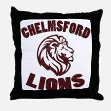 Chelmsford Lions Throw Pillow