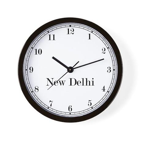 New Delhi Classic Newsroom Wall Clock