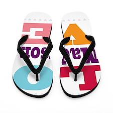 I Love Madyson Flip Flops