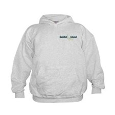 Sanibel Island - Map Design. Hoody