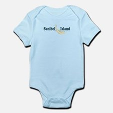 Sanibel Island - Map Design. Infant Bodysuit