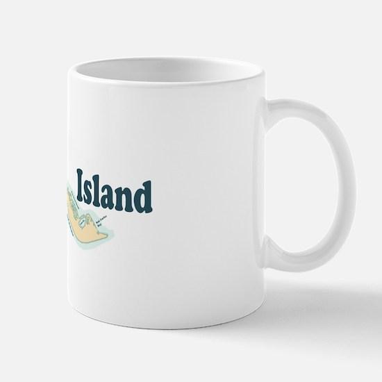 Sanibel Island - Map Design. Mug
