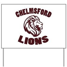 Chelmsford Lions Yard Sign